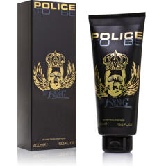Police to be King Body shampoo 400ml