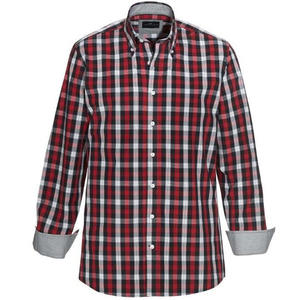 Skjorta OWENS röd tailored fit
