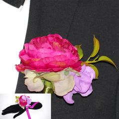 Corsage Pion Rosa Par