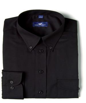 Skjorta MOORE svart regular fit