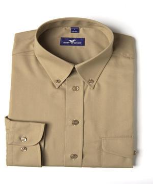 Skjorta MOORE khaki regular fit
