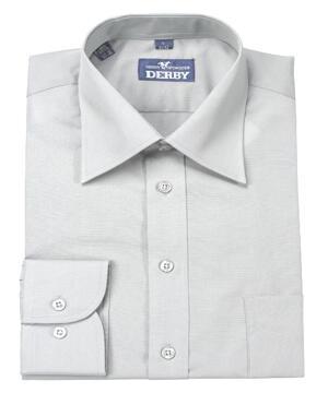 Skjorta POWELL grå regular fit