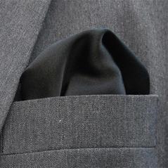 Bröstnäsduk svart