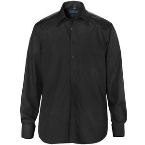 Skjorta POWELL svart regular fit
