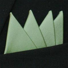 Färdigvikt bröstnäsduk Fyrspets FN050 Pastellgrön