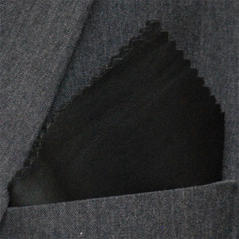 Bröstnäsduk Skinn svart