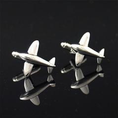 Manschettknappar Flygplan