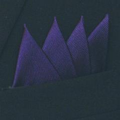 Färdigvikt bröstnäsduk Fyrspets FN061 Mörkblå