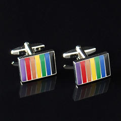 Manschettknappar rainbow
