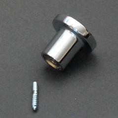 Väggknopp silver