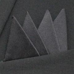 Färdigvikt bröstnäsduk Fyrspets FN401 Svart