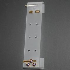 Vägghållare manschettknappar och slipsnål FR
