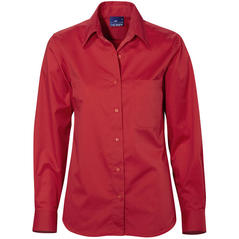 Damblus MOORE röd regular fit