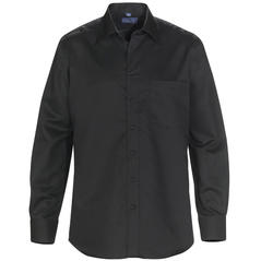 Skjorta COLLINS svart regular fit