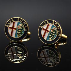 Manschettknappar Alfa Romeo