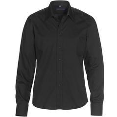Skjorta DAVIS svart slim fit