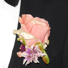 Corsage Ros Rosa