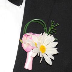 Corsage Prästkrage Rosa