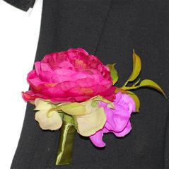 Corsage Pion Rosa
