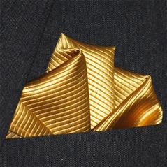 Bröstnäsduk guld N152