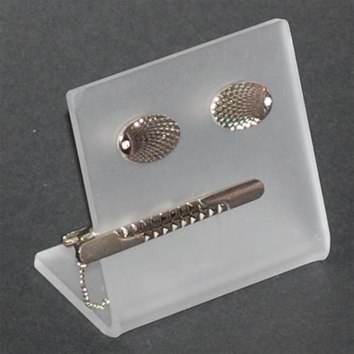 Bordshållare manschettknappar och slipsnål FR