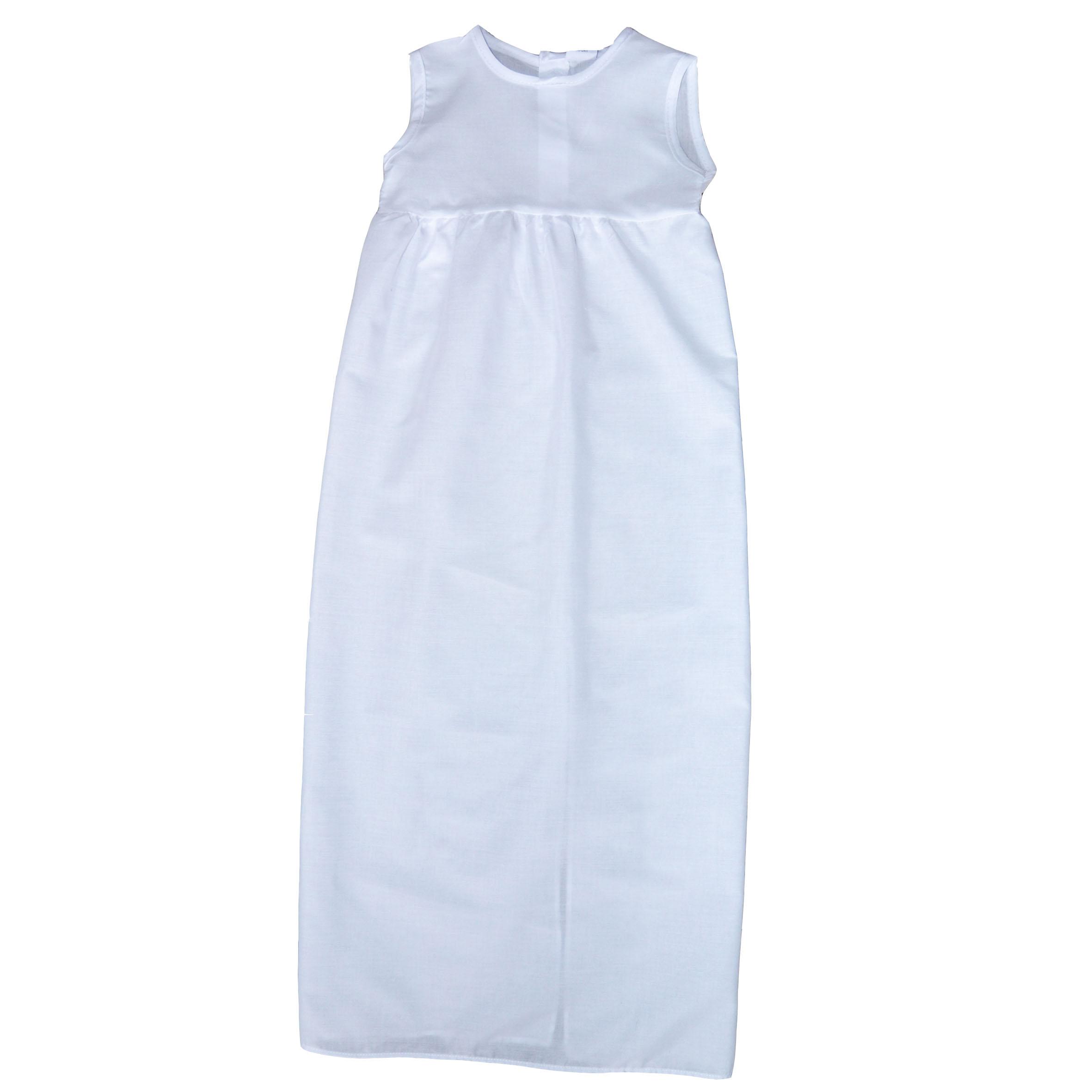 Underklänning 10069 Rosa, Blå, Vit